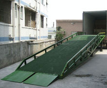 15T hydraulic mobile dock ramp portable steel car ramp
