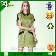 blusa de seda conjuntos de saia e blusa para senhoras design de saia e blusa