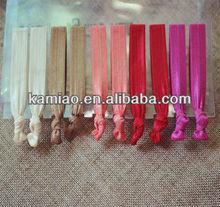 fashion hair accessories knot wholesale elastic hair ties