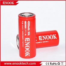 Super AA AAA! Great capacity Enook 26650 4500mAh 60A 3.7V IMR rechargeable battery