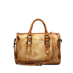 2015 Vintage Style Leather Durable Luggage Travel Bag