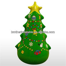 outdoor decoration inflatable christmas decorative tree