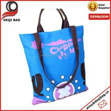 Blue cross body handle Beach Bag Messenger Bag