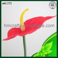 plastic anthurium artificial flower stem