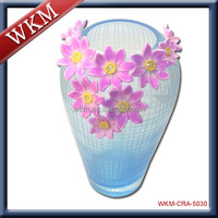 Hot Sale Colored Glass Vase for Wedding centerpieces