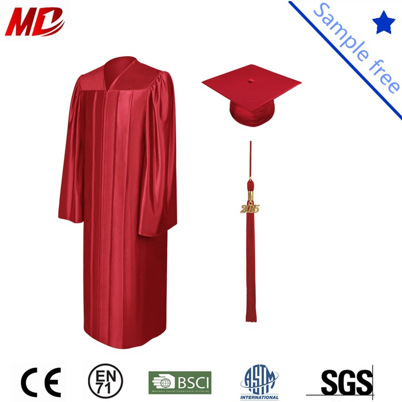 Red shiny graduation cap and gown_.jpg