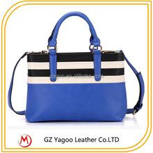 Magic Shoulder Hand Bag Navy Blue Lady Western Bag