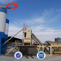 Most Popular products 50m3/h Mobile Small Manufacturing Plant Price