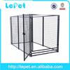 Backyard garden large outdoor steel dog cages dog kennels runs
