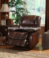 Antique single sofa chair,recliner single sofa chair,American leather sofa chair (BF01-20008)