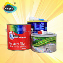 excellent adhesion red hardener hardener and putty for body work