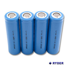 RYDBATT Li-Ion 18650 7.4V 8800mAh PCB Protected Rechargeable Battery