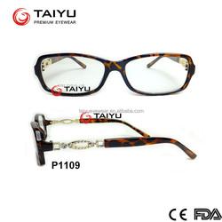 2015 Newest cheap optical frame Economic optical frame injection optical frame cheap optical OEM customized optical (P1109)