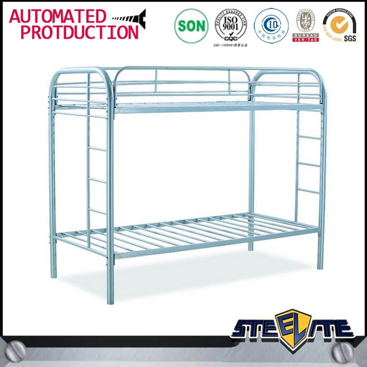 Powder Coated Design Metal Used Bunk Bed Steel Adult Bunk