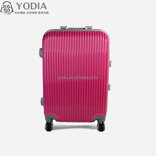 3pcs set hard shell luggage, stock PC trolley suitcase factory price