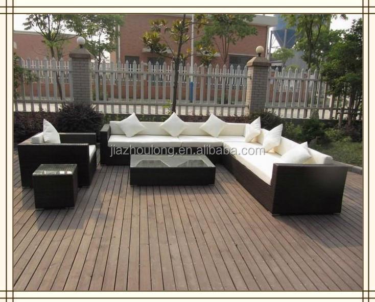 Round sectional outdoor furniture waterproof outdoor furniture wicker