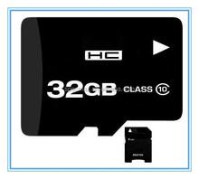 100% full capacity bulk 32gb memory card class 10