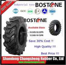 12.5/80-18 , 10.5/80-18 R4 agricultural tyre industrial backhoe tires with China factory tractor tire