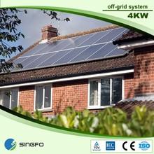 1kw/2KW/3KW/4KW solar power system