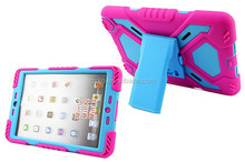 For iPad Mini 3 heavy duty case with 360 degree stand