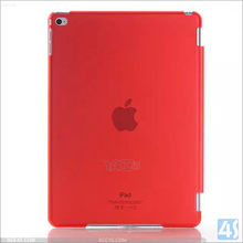 2015 New Design Transprent Ultra Thin Plastic Cover For iPad Air 2 Case