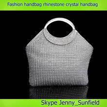 Fashion bags bling bling rhinestone evening crystal handbag women