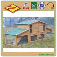 2 Story Waterproof Wooden Rabbit Hutches DXR031