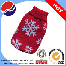 wholesale snow pattern dog clothes