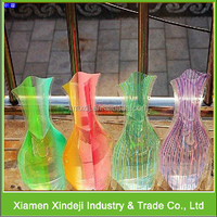 Beautiful Pvc Flower Vase of Decorating Suppliers