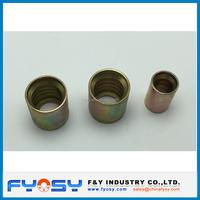 stainless steel hydraulic hose ferrule / hydraulic ferrule hose fitting