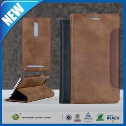 C&T Hot Sale PU Leather Case Flip Cover For Asus ZenFone 2 (ZE551ML/ZE550ML) 5.5 Inch