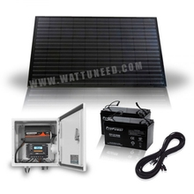 Off-grid SolarBox 260Wc - 100Ah 24V - 300W