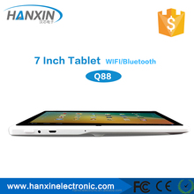 Q88 tablet pc RK2928 7INCH HD lcd with bluetooth with touch pen free