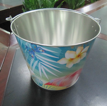 CCBB-T201 5L Tin candy bucket ice cooler ice pail, beer bucket