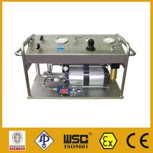 pressure measuring instrument for oil field pressure measuring
