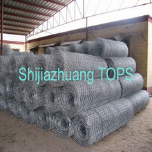 galvanized double twisted hexagonal wire mesh
