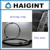 High Quality Outdoor Cooling Misting Ring For Fans