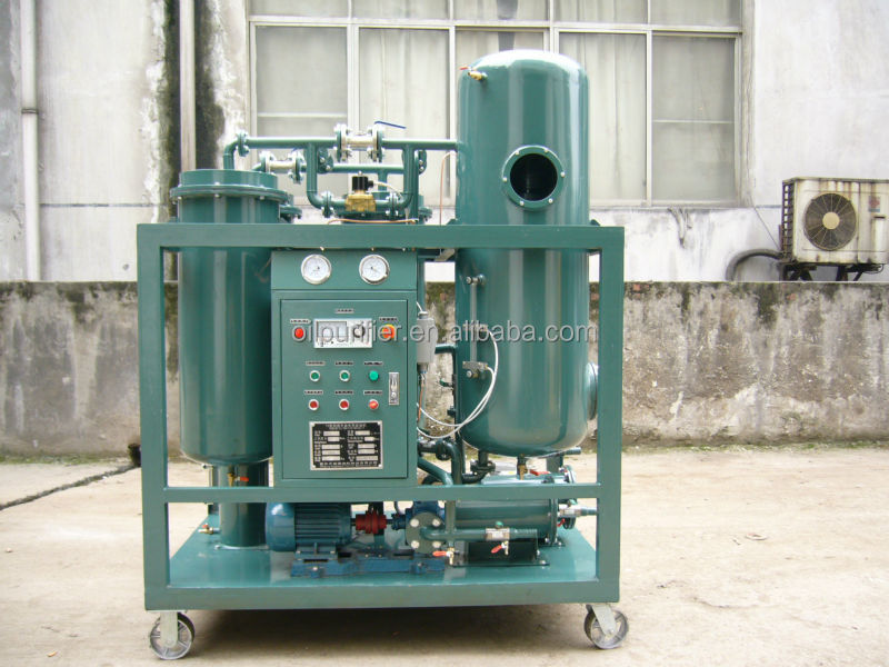 Waste motor engine oil recycling equipment through vacuum for Motor oil recycling center