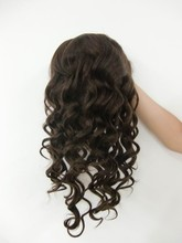direct factory large stock! natural color virgin remy middle-part-lace-front-wig