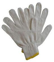 cotton liner natural white glove