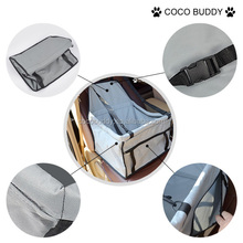 Durability and convenient dog pet booster car seat wholesale
