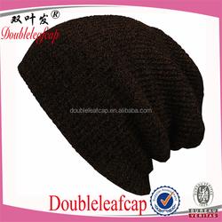 Popular Design Unisex Winter Warm Knit Hat Woolen Felt Knit Snow Ski Hat Custom Design Hat