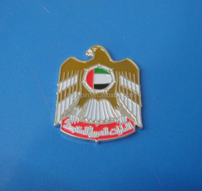 Uae Falcon Emblem Uae Falcon Metal Logo(asny-uae