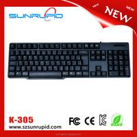 Private Mold 2015 Waterproof 107 Keys Standard USB Wired Keyboard