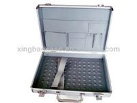 Aluminum laptop case briefcase