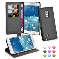 Wallet Flip Leather Moblie Phone Case Cover with Card Slots for Samsung Galaxy Note Edge