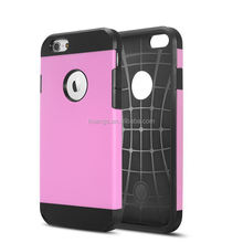 Mobile accessories heavy duty hybrid rugged cover case for iphone 6 china price