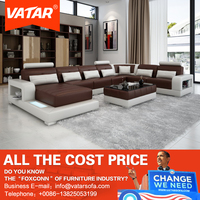 VATAR modern home furniture commercial victorian sectional sofa