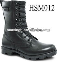 Law Enforcement Western Stealth Force Steel Toe Military Boots With Top Quality