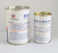 Fire-resistant Rubber Repair Resin For Farbic Ply Conveyor Belt Maintenance